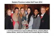 EP LADIES GOLF TEAM 2014