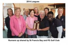 PEGC & St Francis Bay GC League Runners Up